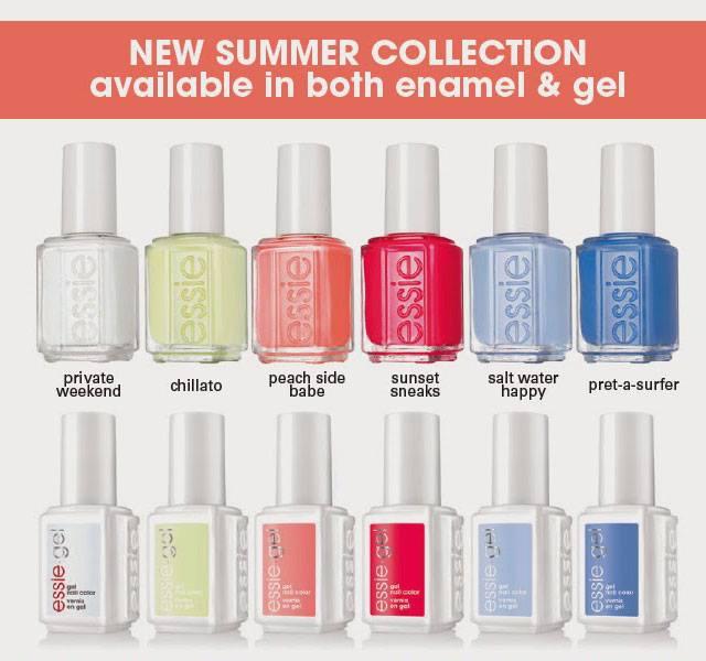 Essie Peach Side Babe Summer 2015 Collection