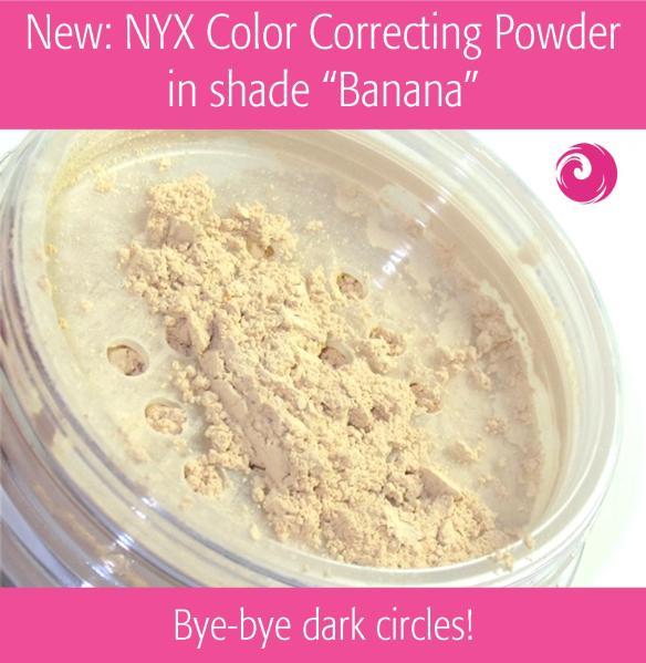 """New: NYX Color Correcting Powder in shade """"Banana"""""""