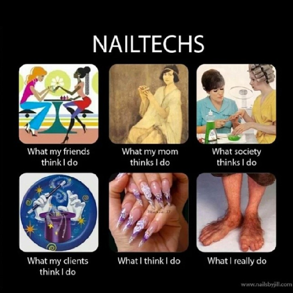 Nail Techs: Perception vs Reality