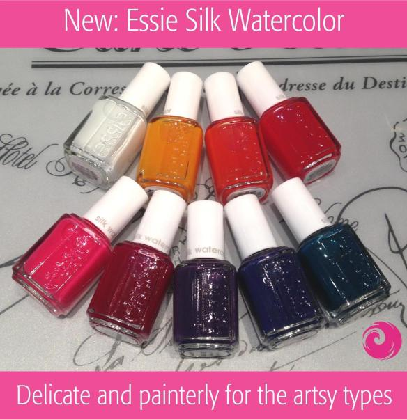 New Essie Silk Watercolors
