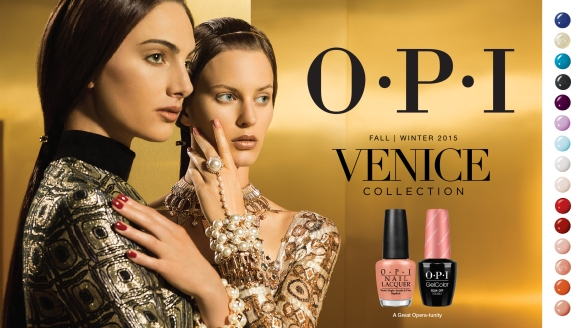OPI Venice 2015 Collection
