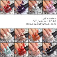 New Arrivals: OPI Venice Fall | Winter 2015 Collection