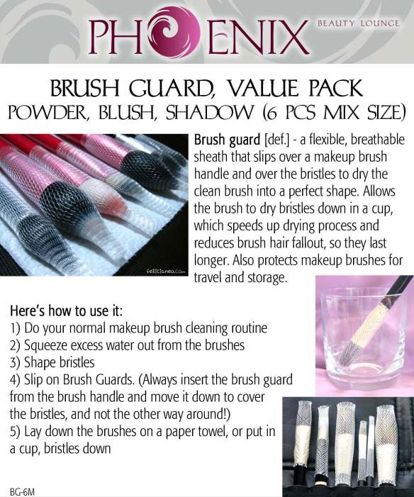 Brush Guard, Value pack Mix Size