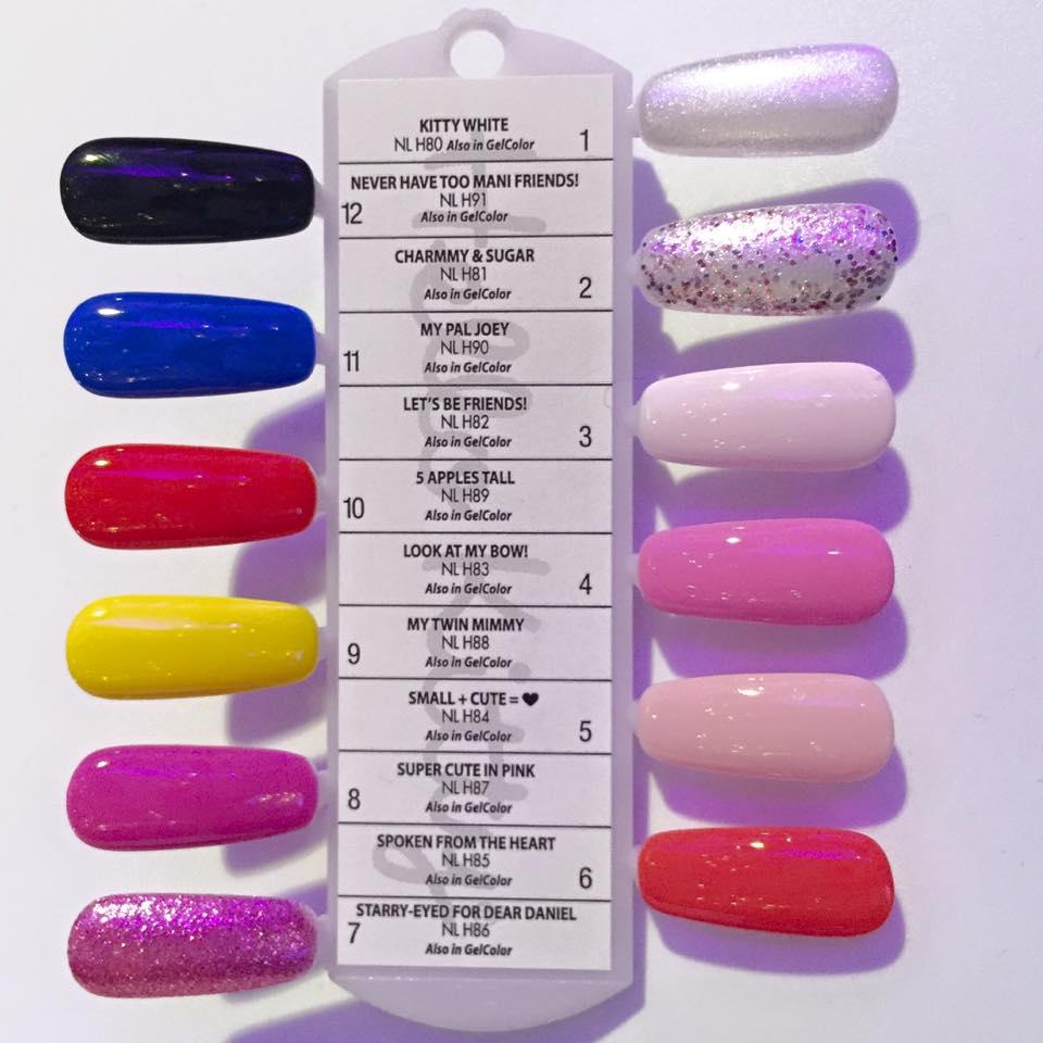 Shellac Nail Color Chart Opi Pinpoint Properties