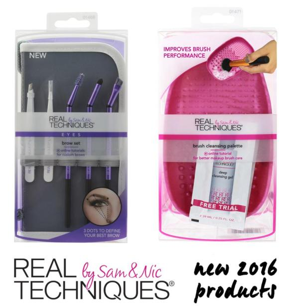 Real Techniques New Products Spring 2016
