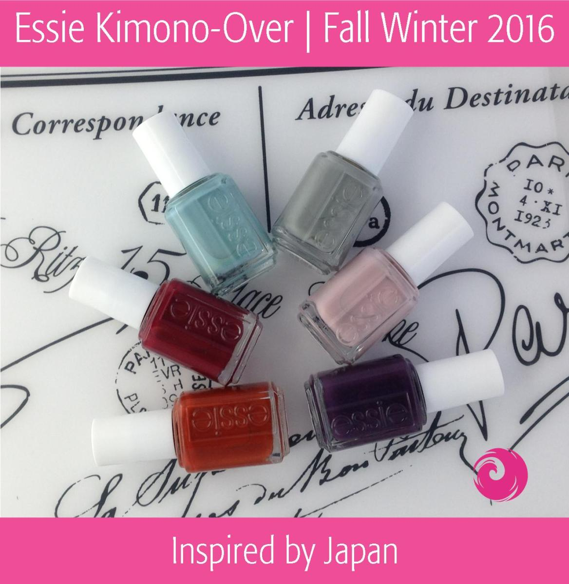 Essie Kimono-over Fall 2016 Collection